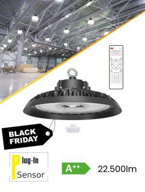 LED High-bay himmennettävä IP65 22.500lm 150W/4000K